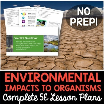 Short and Long Term Environmental Impacts to Organisms Com