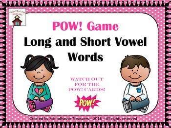 Short and Long Vowel POW Game!