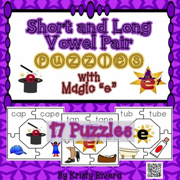Short and Long Vowel Pair Puzzles