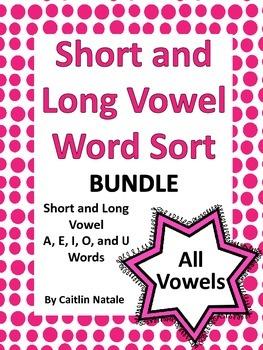 Short and Long Vowel Word Sort Bundle