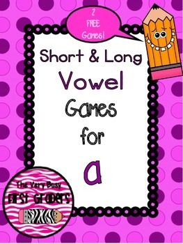 Short and Long Vowel a: FREEBIE!