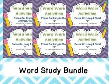 Short and Long Vowels Bundle With Additional Digraph Pack
