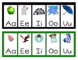 Short and Long Vowels Study Card