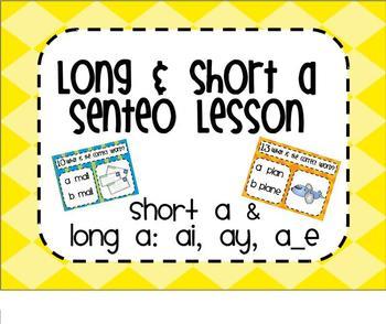 Short and Long a SMARTBoard Senteo Lesson
