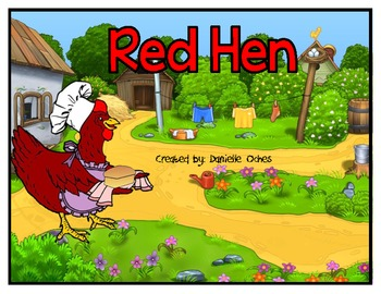 Short e Board Game (Red Hen) Game Only!