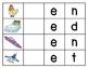 Short /e/ Initial Sound Word Builder Cards with 16 BONUS V