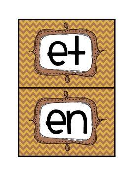 Short-e word sort