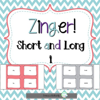 Short and Long i File Folder Game