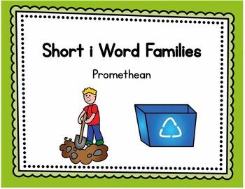 Short i Word Families - Promethean