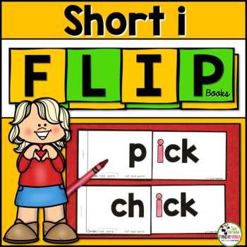 Short i Word Family FLIP Books