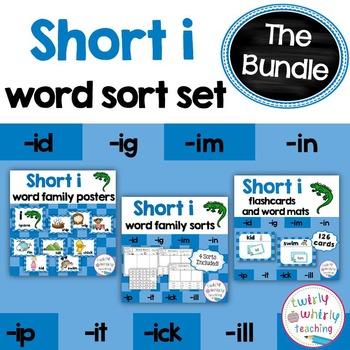 Short i Word Sorts Bundle