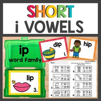 ip Word Family Phonics Pack