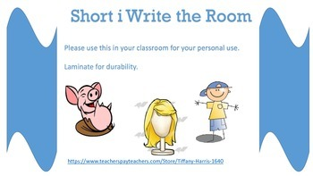 Short i write the room