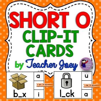 Short o Clip Cards