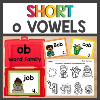ob Word Family Phonics Pack