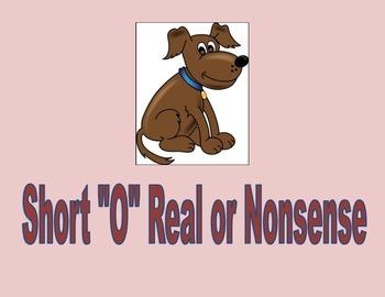 Short o real or nonsense