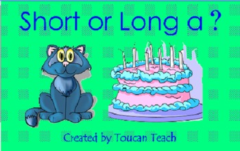 Short or Long a SMARTBoard Activities