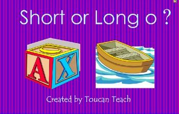 Short or Long o SMARTBoard Activities