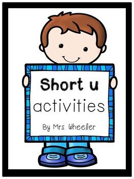 First Grade Phonics: Short u Games