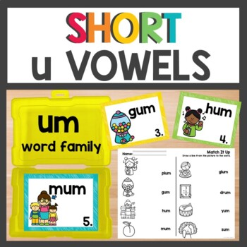 um Word Family Phonics Pack