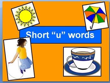 "Short ""u"" words with narration"