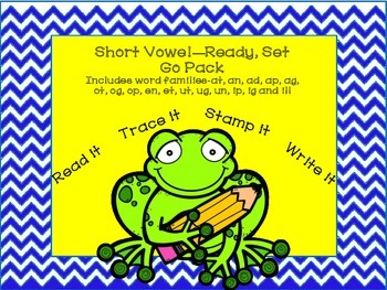 Short vowel, Word Families Word Work
