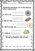 Short vowel e Review