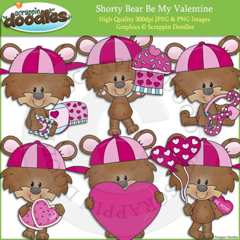 Shorty Bear Be My Valentine