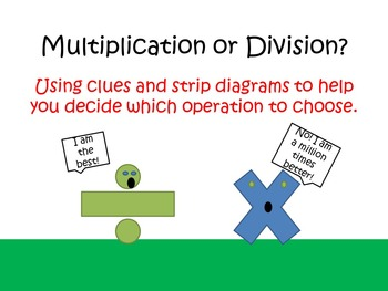 Should I Multiply or Divide? Multipication and Division Wo