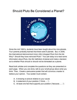 Should Pluto Be Considered a Planet