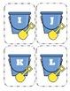 Shovel and Pail Capital Alphabet Flash Cards