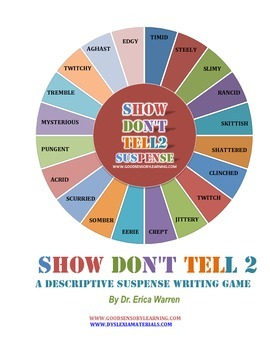 Show Don't Tell 2 Descriptive Suspense Writing Game