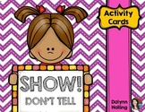 Show, Don't Tell Activity Cards