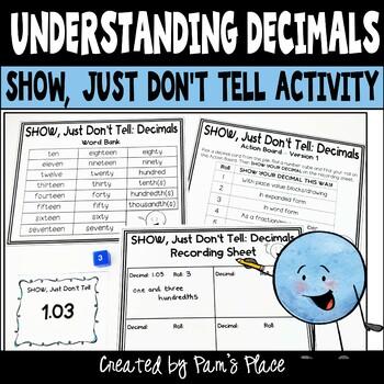 Decimals Activity - Represent Decimals in Different Ways 5.NBT.3a
