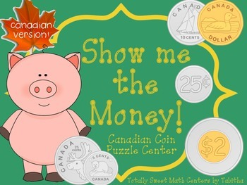 Show Me the Money! A Counting Change Puzzle Center & Asses