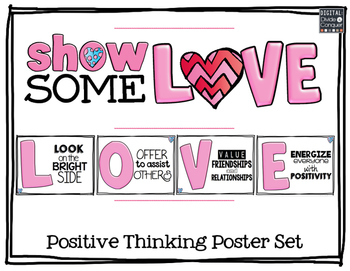 Show Some LOVE! A Positive Thinking Poster Set
