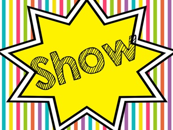 Show What You Know Bulletin Board Display Title