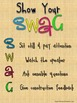 Show Your SWAG- Rules for sitting and listening sensibly