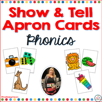 Show and Tell Apron Cards Beginning Phonics