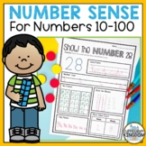 Number Sense and Place Value to 100 Interactive Number of