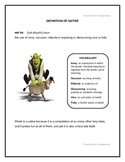 Shrek and Satire Five Paragraph Essay