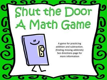Shut the Door