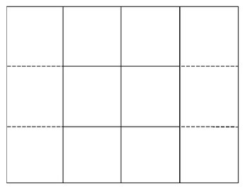 Shutter Fold-able blank template