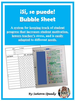 Si Se Puede Bubble Sheet - Student Progress Monitoring