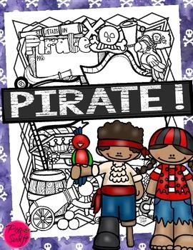 Si j'étais un pirate! - French Poster