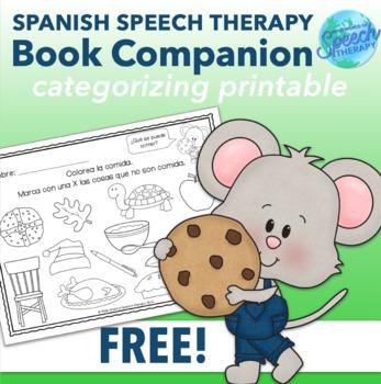 Si le das una galleta a un ratón - FREE Spanish Speech The