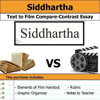 Siddhartha - Text to Film Essay Bundle