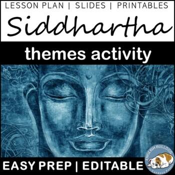 Siddhartha Themes Textual Analysis Activity