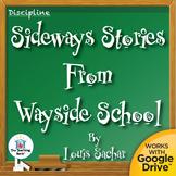 Sideways Stories from Wayside School Novel Study CD