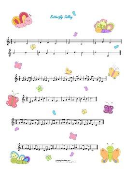 Sight Reading Exercises - Piano